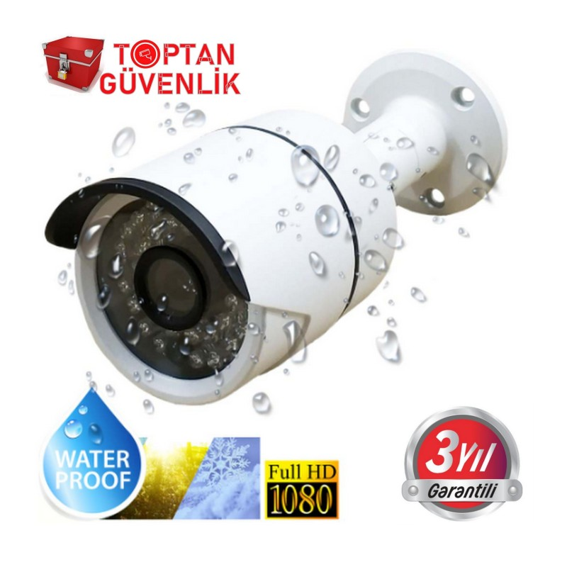 2 MP 36 LED 1080P FULL HD Metal Kasa Ahd Kamera ARNA-2326