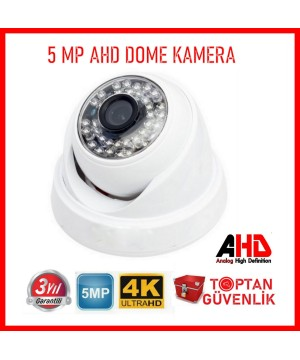 5MP AHD IR CAM 3.6MM 36 LED Dome Güvenlik Kamerası ARNA-2536