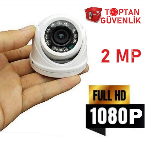 2MP 1080P 2.8MM 12 LED DOME ARAÇ KAMERASI ARNA-6212