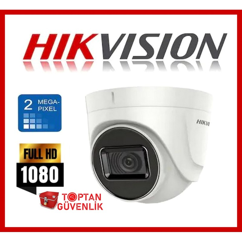 Hikvision DS-2CE76D0T-ITPF 1080p 2,8mm Mini IR (20mt) Dome Kamera