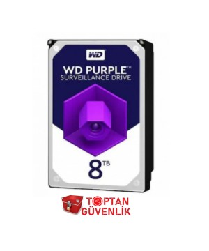 Western Digital Purple WD82PURZ 3.5' 8 TB 7200 RPM HDD Güvenlik Diski