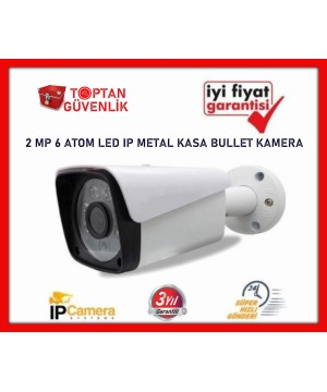 2.0 MP 1080P 6 ATOM LED BULLET IP METAL KASA KAMERA ARNA-1036