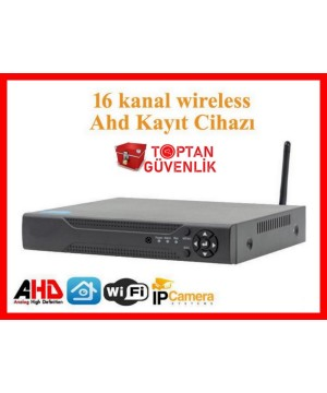 16 Kanal Wireless Wifi 1080N KAYIT CİHAZI ARNA-4216