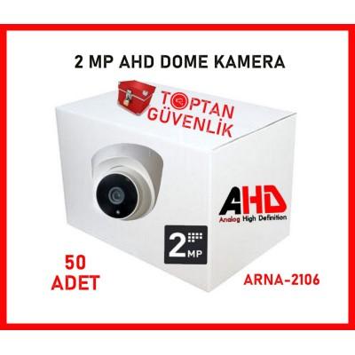 2 MP 1080P AHD 6 ATOM LED DOME GÜVENLİK KAMERASI ARNA-2106 50 ADET